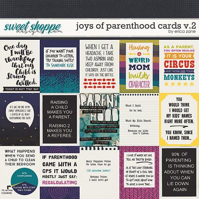 Joys of Parenthood: Cards v.2 by Erica Zane