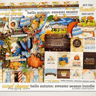 Hello Autumn: Sweater Season Bundle by Kristin Cronin-Barrow