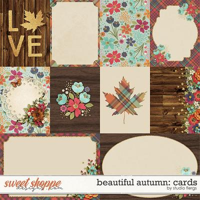 Beautiful Autumn: CARDS by Studio Flergs