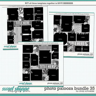 Cindy's Layered Templates - Photo Palooza Bundle 35 by Cindy Schneider