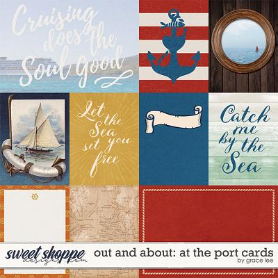 Out and About: At the Port: Cards by Grace Lee