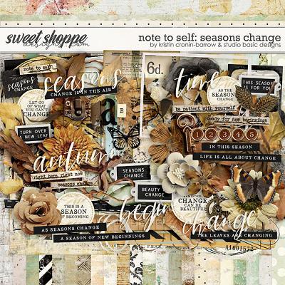 Note To Self: Seasons Change Kit by Kristin Cronin-Barrow & Studio Basic