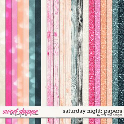 Saturday Night: Papers by River Rose Designs