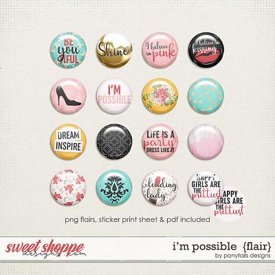 I'm Possible Flair by Ponytails