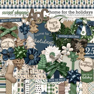 Home for the Holidays Kit by Meghan Mullens and Ponytails Designs