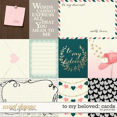 To My Beloved: Cards by Grace Lee