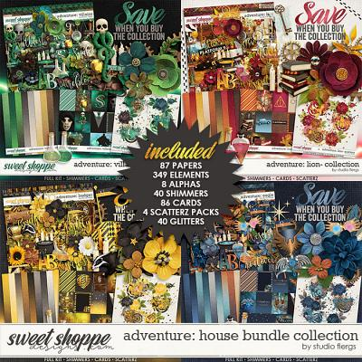 Adventure: House- BUNDLE COLLECTION by Studio Flergs