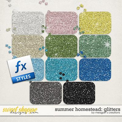 Summer Homestead: Glitters by Meagan's Creations