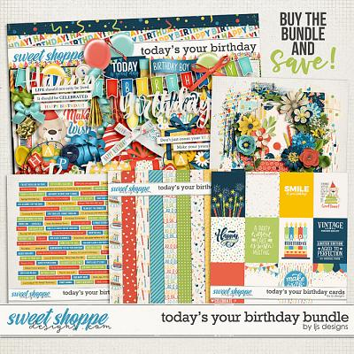 Today's Your Birthday Bundle by LJS Designs