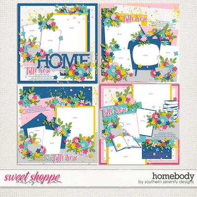 Homebody Layered Templates by Southern Serenity Designs