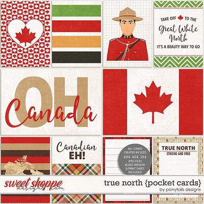 True North Pocket Cards by Ponytails