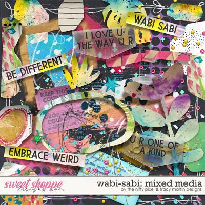 WABI-SABI MIXED MEDIA | The Nifty Pixel & Tracy Martin Designs