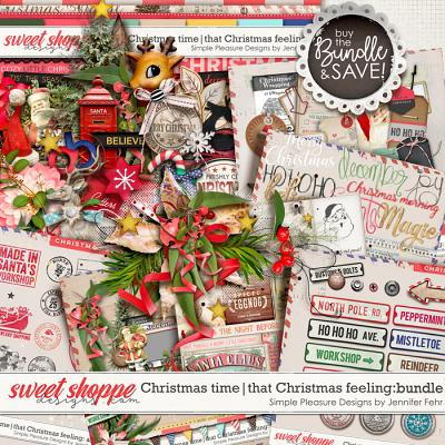 Christmas time | that Christmas feeling mega bundle: simple pleasure designs by jennifer fehr