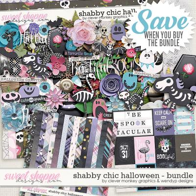 Shabby Chic Halloween Bundle by Clever Monkey Graphics & WendyP Designs