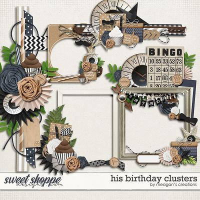 His Birthday Clusters by Meagan's Creations