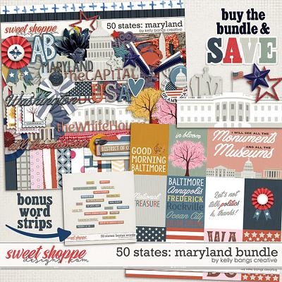 50 States: Maryland Bundle by Kelly Bangs Creative