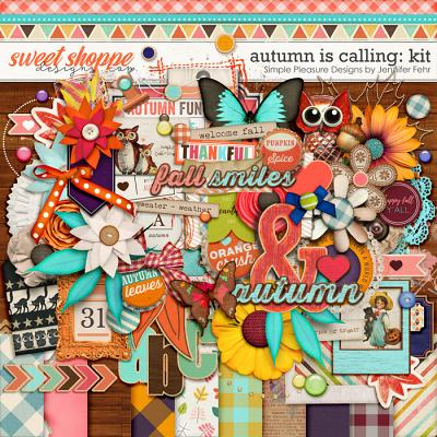autumn is calling kit: Simple Pleasure Designs by Jennifer Fehr