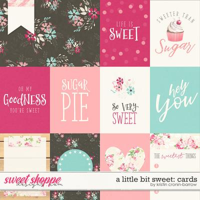 A little bit Sweet: Cards by Kristin Cronin-Barrow