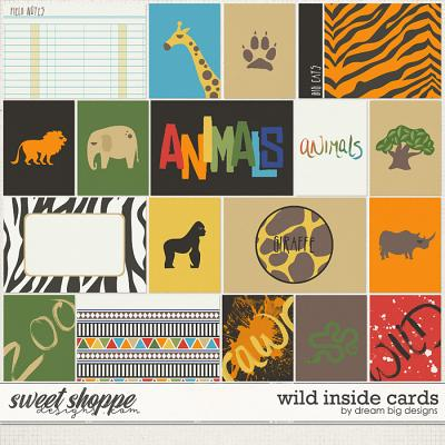 Wild Inside Cards by Dream Big Designs