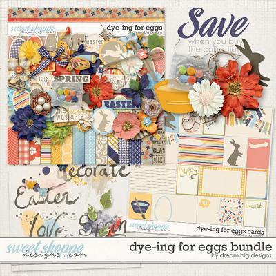 Dye-ing for Eggs Bundle by Dream Big Designs