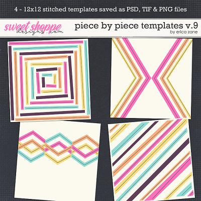 Piece by Piece v.9 Templates by Erica Zane