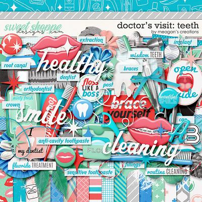 Doctor's Visit: Teeth by Meagan's Creations
