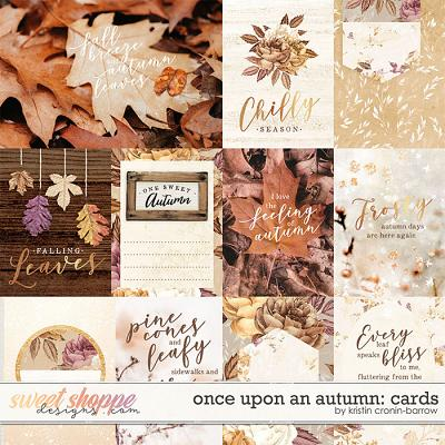 Once upon an autumn: Cards by Kristin Cronin-Barrow
