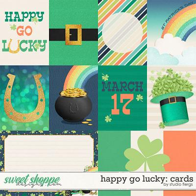 Happy Go Lucky: CARDS by Studio Flergs