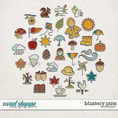 Blustery Pins by LJS Designs
