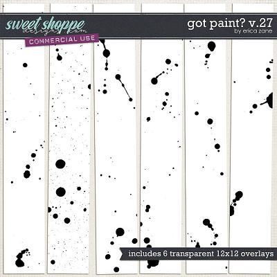 Got Paint? v.27 by Erica Zane