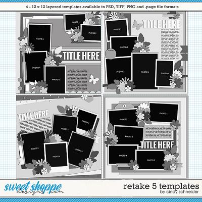 Cindy's Layered Templates - Retake Five by Cindy Schneider