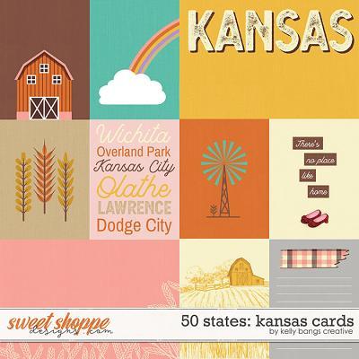 50 States: Kansas Cards by Kelly Bangs Creative
