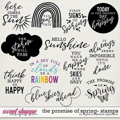 The Promise Of Spring | Stamps by Digital Scrapbook Ingredients