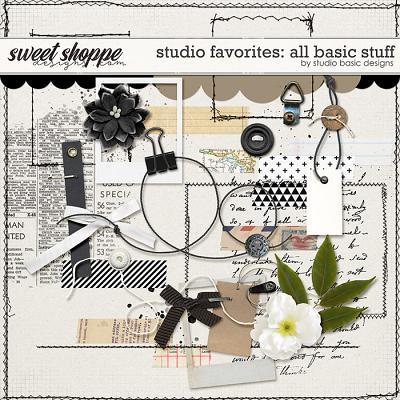 Studio Favorites: All Basic Stuff by Studio Basic