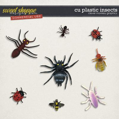 CU Plastic Insects by Clever Monkey Graphics