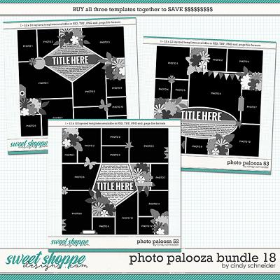 Cindy's Layered Templates - Photo Palooza Bundle 18 by Cindy Schneider