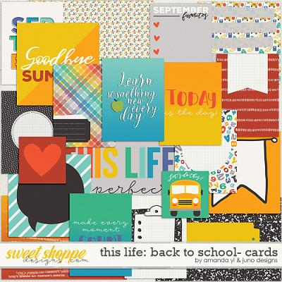 This Life: Back To School- Cards by Amanda Yi & Juno Designs