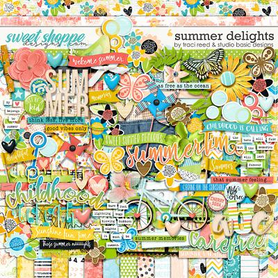 Summer Delights Kit by Traci Reed and Studio Basic Designs