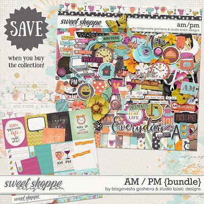AM/PM Bundle by Blagovesta Gosheva and Studio Basic