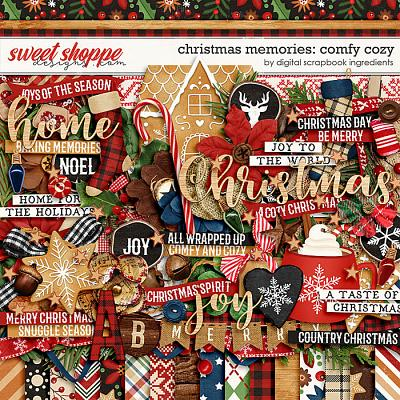 Christmas Memories: Comfy Cozy by Digital Scrapbook Ingredients