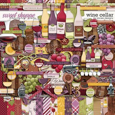 Wine Cellar by JoCee Designs