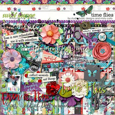 Time Flies Kit by Misty Cato and Studio Basic