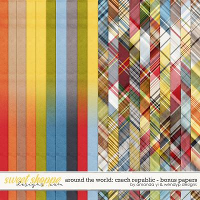 Around the world: Czech Republic - Bonus Papers by Amanda Yi & WendyP Designs