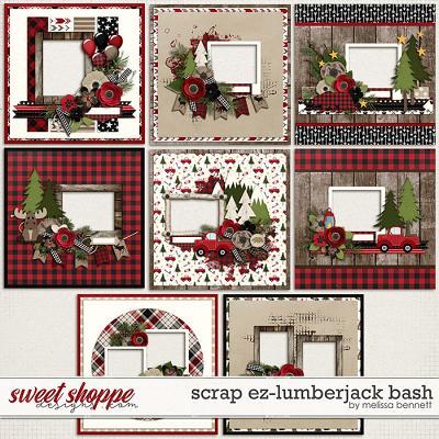 Scrap EZ-Lumberjack Bash by Melissa Bennett