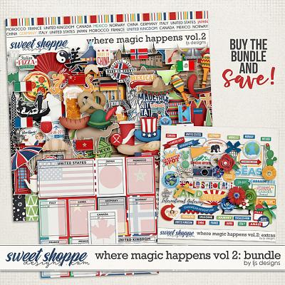 Where Magic Happens Vol. 2: Bundle by LJS Designs