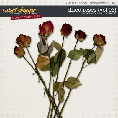 Dried Roses {Vol 03} by Christine Mortimer