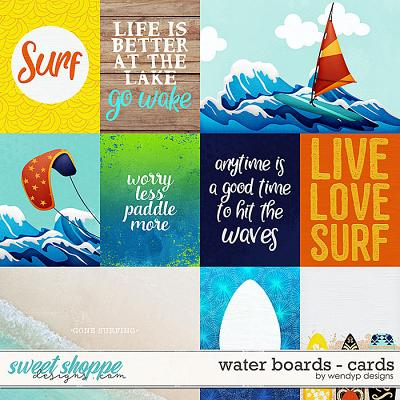 Water boards - Cards by WendyP Designs