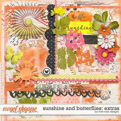 Sunshine & Butterflies: Extras by River Rose Designs
