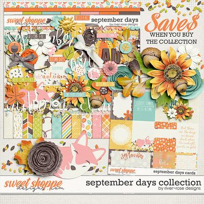 September Days Collection by River Rose Designs