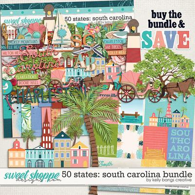 50 States: South Carolina Bundle by Kelly Bangs Creative